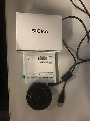 Sigma USB Dock UD-01 for Canon  EF Mount Lenses
