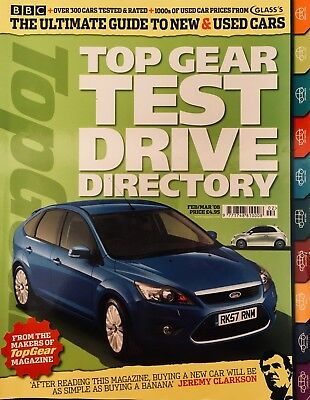Top Gear Test Drive Directory Feb / Mar '08 - Ultimate New & Used Car Guide