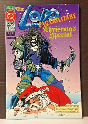 Used: Lobo Paramilitary Christmas Special (1991) Giffen Bisley Dc Comics
