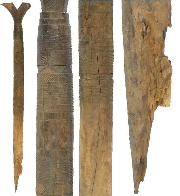 African Art authentic old tent post Tuareg Niger West Africa home decoration