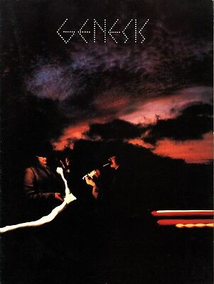 Genesis 1978 ... And Then There Were Three Tour Poster Program Book / Nmt 2 Mint