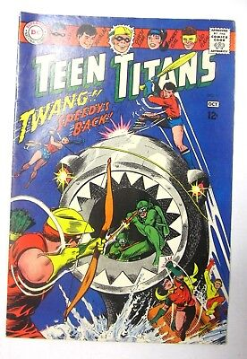 Teen Titans #11 - 1967 - In near flawless shape - bagged since I bought it in 75