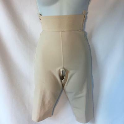 Marena Recovery Compression Garment Beige thigh length Small