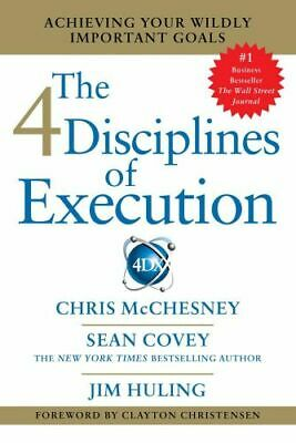 NEW 4 Disciplines of Execution By Sean Covey Paperback Free Shipping