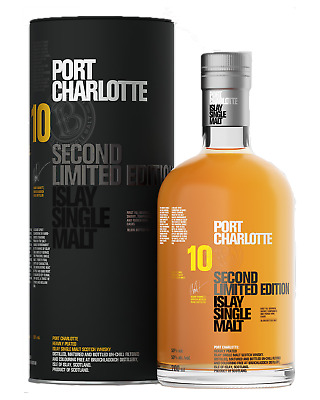 Bruichladdich Port Charlotte 10 Year Old Soctch Whisky 700mL bottle