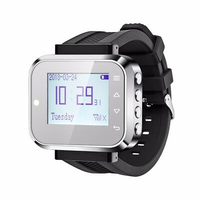 Wireless Waiter Pager Calling System Watch Hospital Bank Hotel Restaurant Waiter