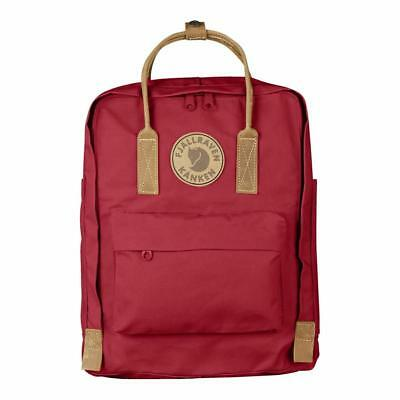 FJALLRAVEN KANKEN NO.2 Double Wax Heavy Duty Leather Backpack 16L 8 colors