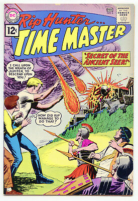 JERRY WEIST ESTATE: RIP HUNTER… TIME MASTER #6 (DC 1962) VF condition! NO RES