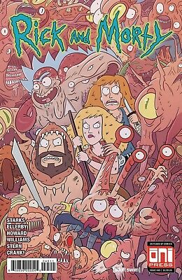 Rick And Morty #45 Covers A + B Est Rel Date 01/02/2019