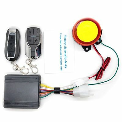 Universal Motorcycle Bike Alarm System Scooter Anti-theft Security Alarm Syst N2