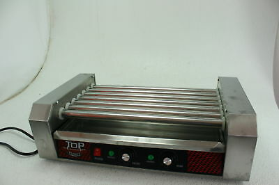 Great Northern Top Dawg Commercial 7 Roller Stainless Steel Hot Dog Machine