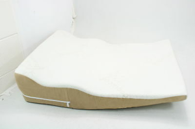 Avana Contoured Bed Wedge Support Pillow For Side Sleepers Cooling Memory Foam