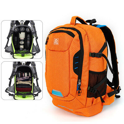Waterproof Large Camera Backpack Travel Camcorder DSLR SLR Laptop Shoulder Bag