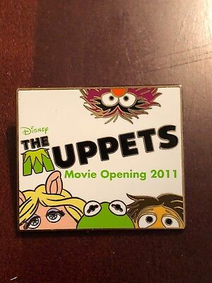 Disney The Muppets Movie Opening 2011 LE Pin