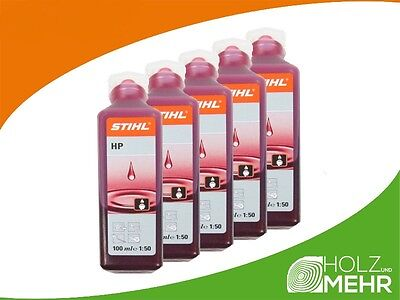 Original Oil Stihl hp 100ML x 5 Pcs Mixing Oil 0781 319 8401