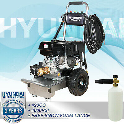 Pressure Washer Petrol 4000psi Jet Washer 15L/min 14hp  275bar Commercial Pump