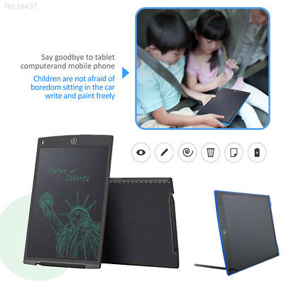 """C63D 12"""" inch LCD Tablet Writing Drawing Memo Message Black handwriting Board"""