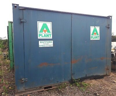 14FT x 8FT STEEL STORAGE SHIPPING CONTAINER