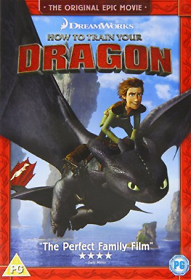 How to Train Your Dragon DVD NEW