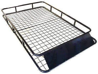 Universal Roof Basket Steel Cargo Luggage Tray Folding Carrier Rack 1.6M X 1M