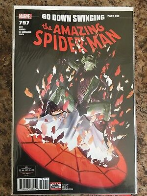 Amazing Spider-Man #797  Nm 1St Print, Red Goblin, Alex Ross Cover