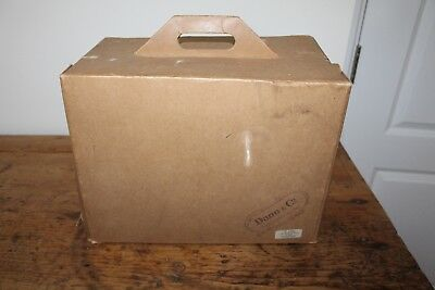 Vintage Dunn & Co London Hat & Clothes Box Jefferiss Bagshott Avenue Exeter