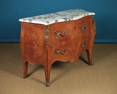 Marble Top Bombe Chest of Drawers c.1920.