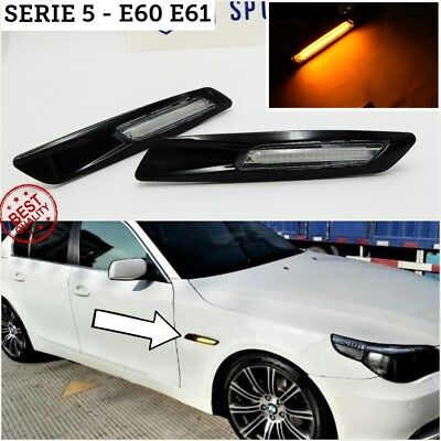 FRECCE LED bmw SERIE 5 E60 E61 tuning m sport performance luci laterali led m5