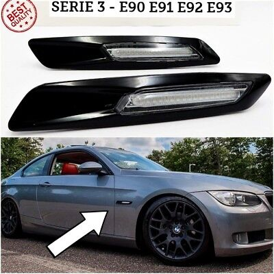 FRECCE LED bmw SERIE 3 e90 e91 e92 e93 tuning laterale m sport performance luci
