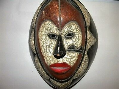 African Art - Hand Carved Mask - Cameroon