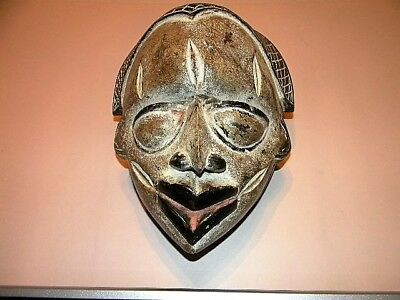 African Art - Hand crafted Punu Mask from Gabon