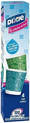 Dixie Bath Cups, 3 Oz, 100 Count (Pack of 3)