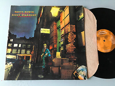 LP 1990 RE  David Bowie ‎– The Rise And Fall Of Ziggy Stardust And The Spiders