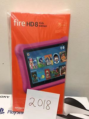 "Amazon - Fire HD Kids Edition - 8"" - Tablet - 32GB 8th Gen  Pink, 2018 Release"