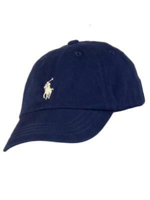 Authentic Ralph Lauren Polo Pony baby boys baseball sun hat cap 9 - 24 mths