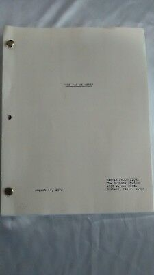 Vintage The Way We Were 1972 Rastar Productions Movie Original Script