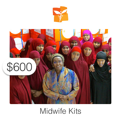 $600 Charitable Donation For: Midwife Kits