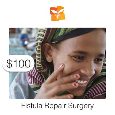 $100 Charitable Donation For: Restore Health to a Woman with Fistula