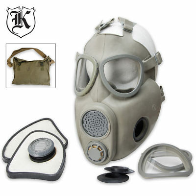 NEW! Czech Military Surplus Gas Mask M10 Good Quality Free Ship in USA