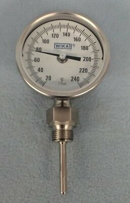 Wiki Bimetal Thermometer - TI.31 - Stem Length - 2.5""
