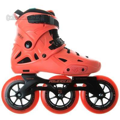 Powerslide Imperial Megacruiser 125mm Inline Dual Fit Skates Size 7.5-8.0 NEW