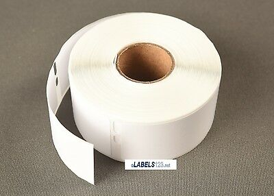 100 Rolls of Dymo® CoStar Duo Compatible White Rectangular Address Labels 30320