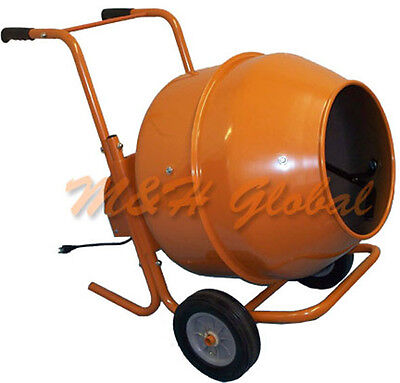 8 Cubic SHORT Cement Mixer Portable Concrete Mixing Motar Mixer