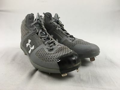 Under Armour - Gray Cleats (Men's 11.5) - Used
