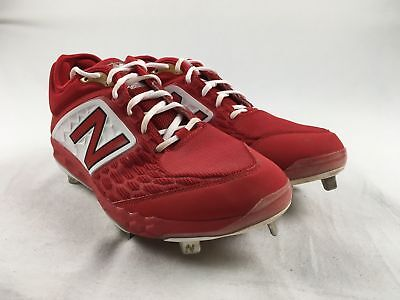 New Balance L3000v4 - Red Cleats (Men's 12) - Used
