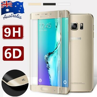 New 6D Samsung Galaxy S7 edge Full Coverage Tempered Glass Screen Protector Film
