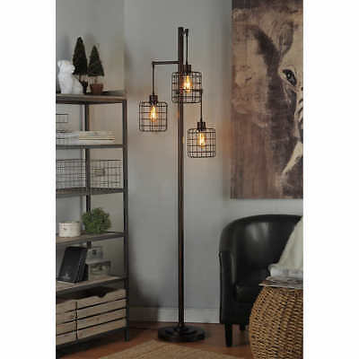 Piper Lamp 72 Inch Tall Rubbed Bronze Finish Floor Lamp