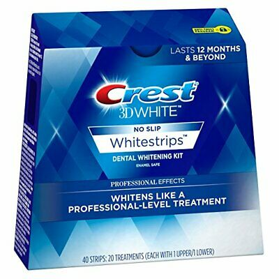Crest3D White Professional Effects No Slip Dental Kit - 5,10,15,20 pouches