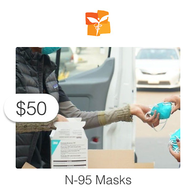 $50 Charitable Donation For: N-95 Masks for Those Affected by CA Wildfires