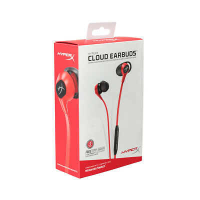 Kingston HyperX Cloud Earbuds Comfortable Earphone Carrying Case for Switch Q7L9